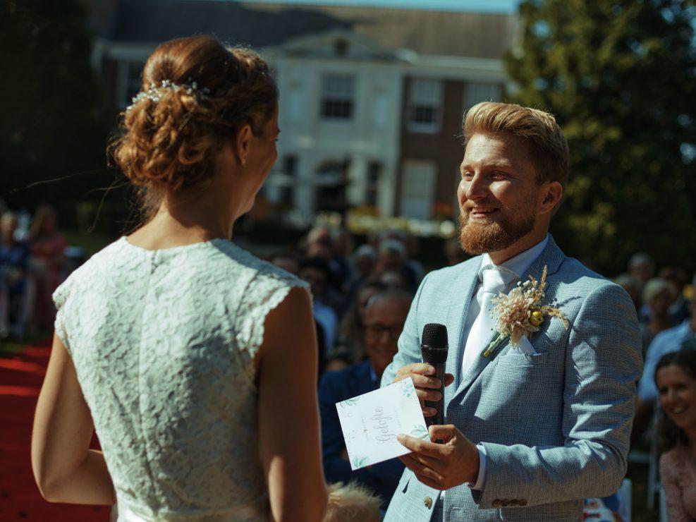 bruidsfotografie bij marquette in Heemskerk