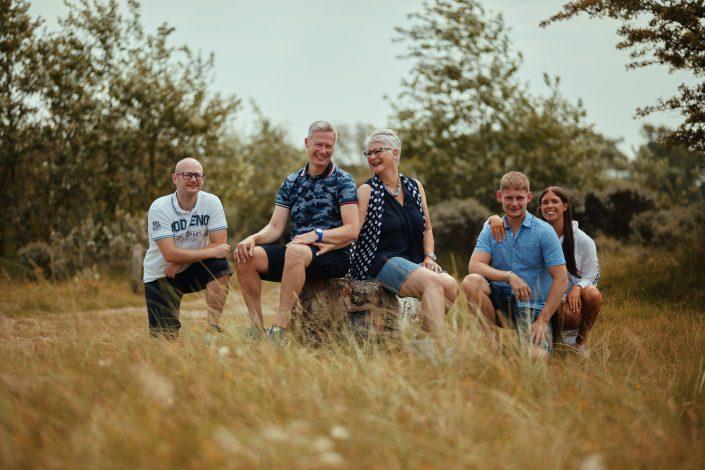 Tijdens deze fotoshoot in de duinen van Egmond genoot iedereen!